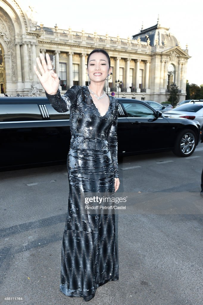 Gong Li attends the 27th 'Biennale des Antiquaires' Pre Opening at Le Grand Palais on September 9, 2014 in Paris, France.