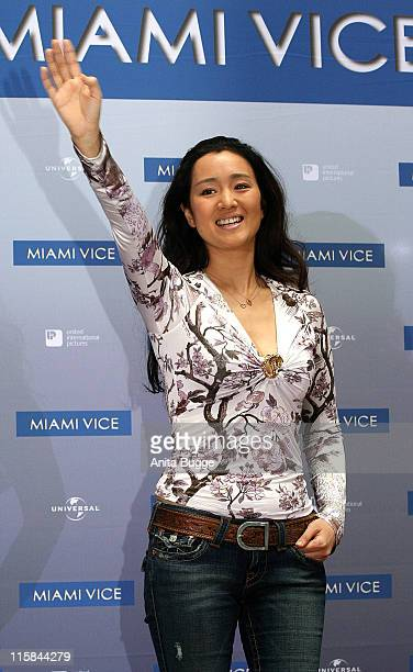 Gong Li during 'Miami Vice' Berlin Photocall July 29 2006 in Berlin Germany
