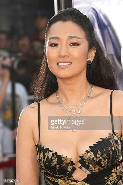 Gong Li during 'Miami Vice' Los Angeles World Premiere at Mann Village Theatre in Westwood California United States