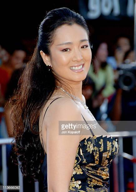 Gong Li during 'Miami Vice' World Premiere Arrivals at Mann Village Westwood in Westwood California United States
