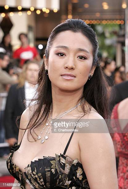 Gong Li during Universal Pictures Presents the World Premiere of 'Miami Vice' at Mann Village Theater in Westwood California United States