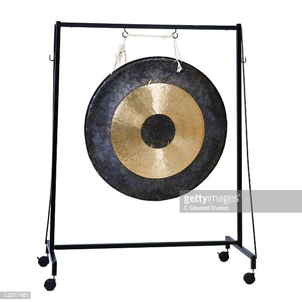 Gong on Square Stand