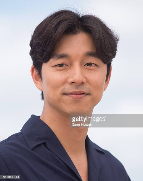 Gong Yoo attends the 'Train To Busan ' Photocall at the annual 69th Cannes Film Festival at Palais des Festivals on May 12 2016 in Cannes France