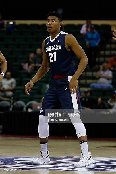 Gonzaga Bulldogs forward Rui Hachimura during the 2016 Advocare Invitational NCAA mens basketball game between the Gonzaga Bulldogs and Quinnipiac...