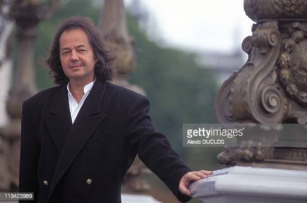 Gonzague Saint Bris And Vladimir Fedorovski On September 13th 1996 In Paris France