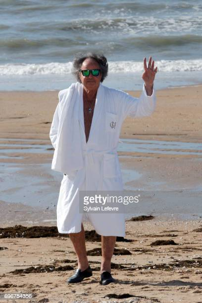 Gonzague Saint Bris attends 3rd day of the 31st Cabourg Film Festival on June 16 2017 in Cabourg France