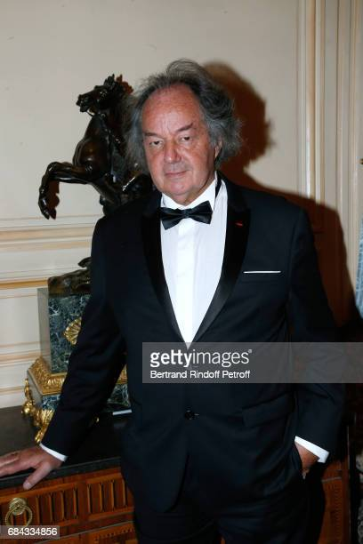 Gonzague Saint Bris attends the 'Vaincre Le Cancer' Gala 30th Anniverary at Cercle de l'Union Interalliee on May 17 2017 in Paris France