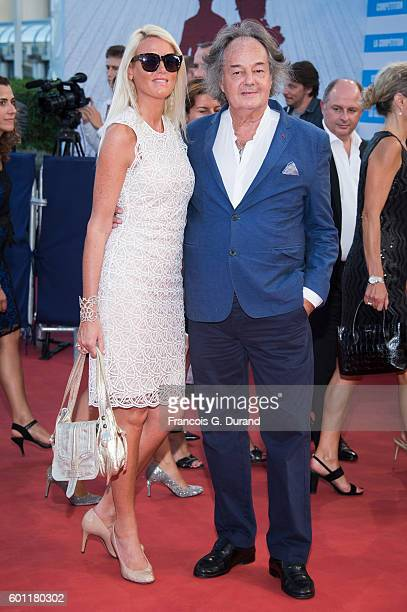 Gonzague SaintBris and Alice Berthaume attend the 'Imperium' Premiere during the 42nd Deauville American Film Festival on September 9 2016 in...