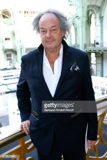 Gonzague SaintBris attends the 'Revelations' Fair at Balcon d'Honneur du Grand Palais on May 5 2017 in Paris France