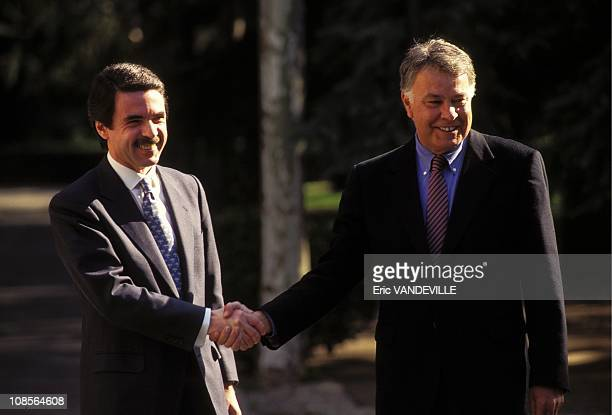 F Gonzales meeting Mr Aznar Jose Maria