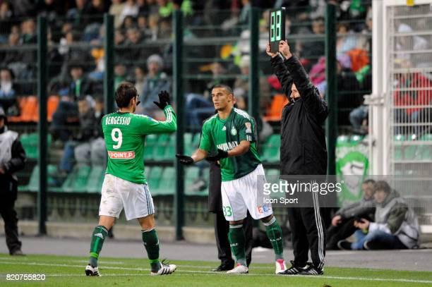 Gonzalo BERGESSIO / Idriss SAADI Saint Etienne / Bordeaux Huitiemes de finale de la Coupe de la Ligue