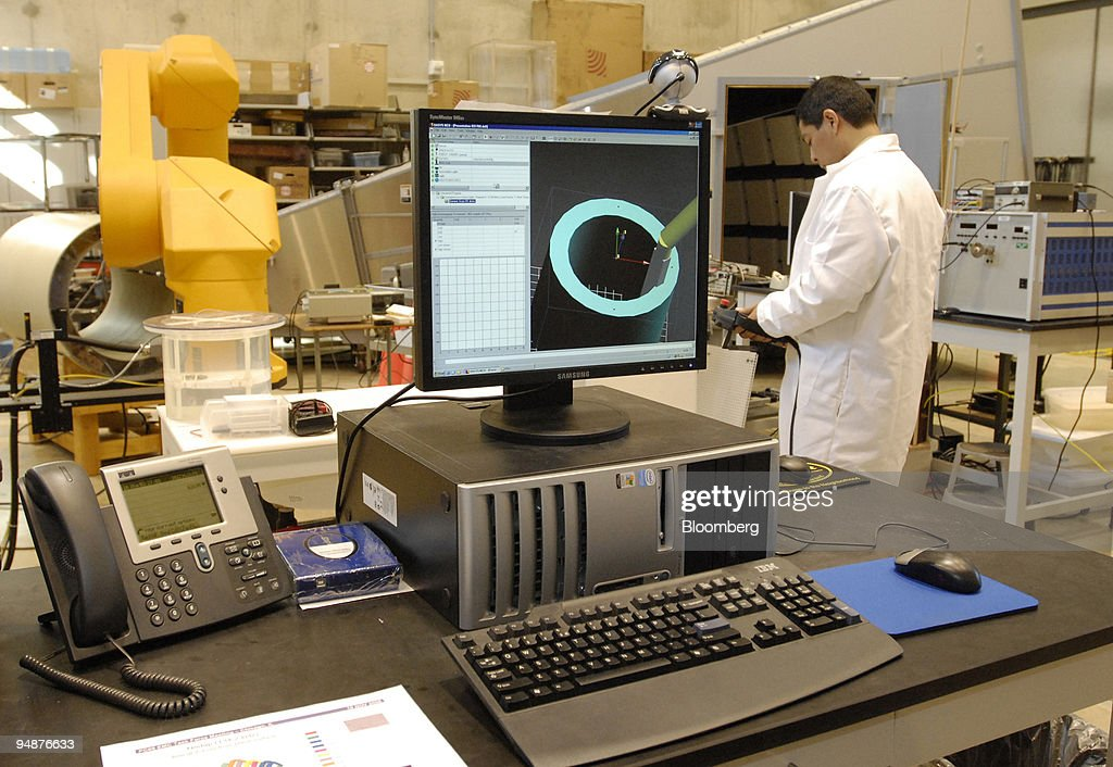 Gonzalo Mendoza researcher for the Food and Drug Administration works in a lab during a tour for the media of the Science and Engineering...