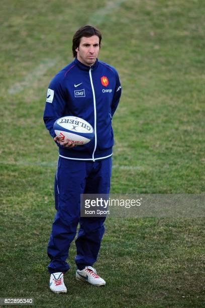 Gonzalo QUESADA Entrainement de l'Equipe de France Centre National du Rugby Marcoussis