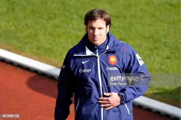 Gonzalo QUESADA Entrainement Equipe de France avant Angleterre/France CNR Marcoussis