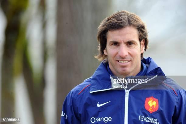 Gonzalo QUESADA Entrainement Equipe de France en vue du match contre le Pays de Galles Tournoi des 6 Nations 2010 CNR Marcoussis