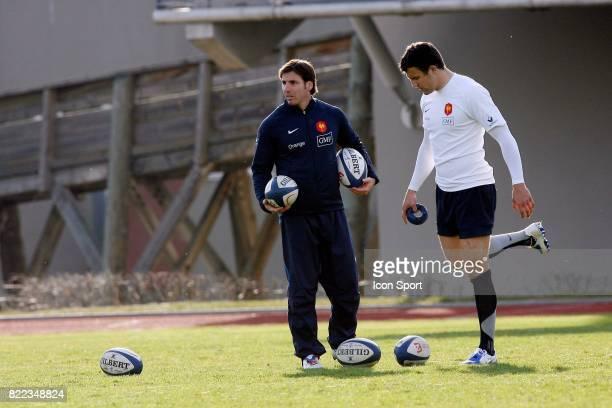 Gonzalo QUESADA / Damien TRAILLE Entrainement de l'Equipe de France Marcoussis