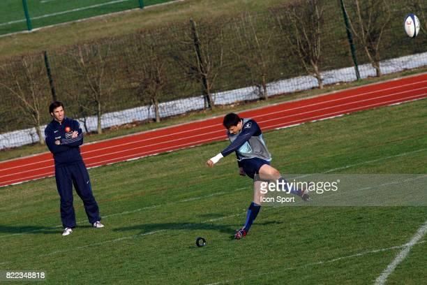 Gonzalo QUESADA / Francois TRINH DUC Entrainement de l'Equipe de France Marcoussis