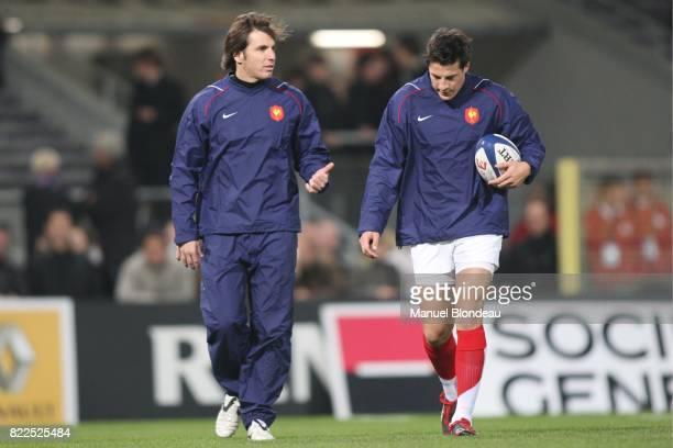 Gonzalo QUESADA / Francois TRINH DUC France / Afrique du Sud Test Match Stadium Toulouse