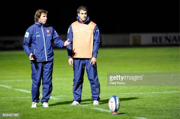 Gonzalo QUESADA / Jerome PORICAL Entrainement de l equipe de France a Marcoussis