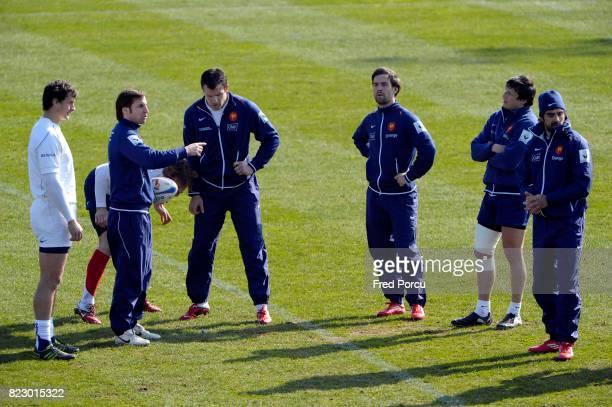 Gonzalo QUESADA / Morgan PARRA Rugby Entrainement France Marcoussis