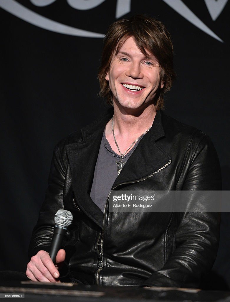 Goo Goo Dolls band member John Rzeznik attends a ceremony inducting The Goo Goo Dolls into the Guitar Center RockWalk at Guitar Center on May 7, 2013 in Hollywood, California.