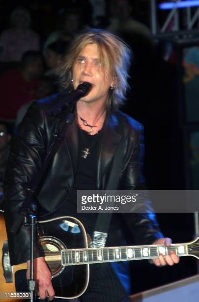 Goo Goo Dolls during Slam Dunk Contest Brings the Stars Out February 20 2005 at Pepsi Center in Denver Colorado United States