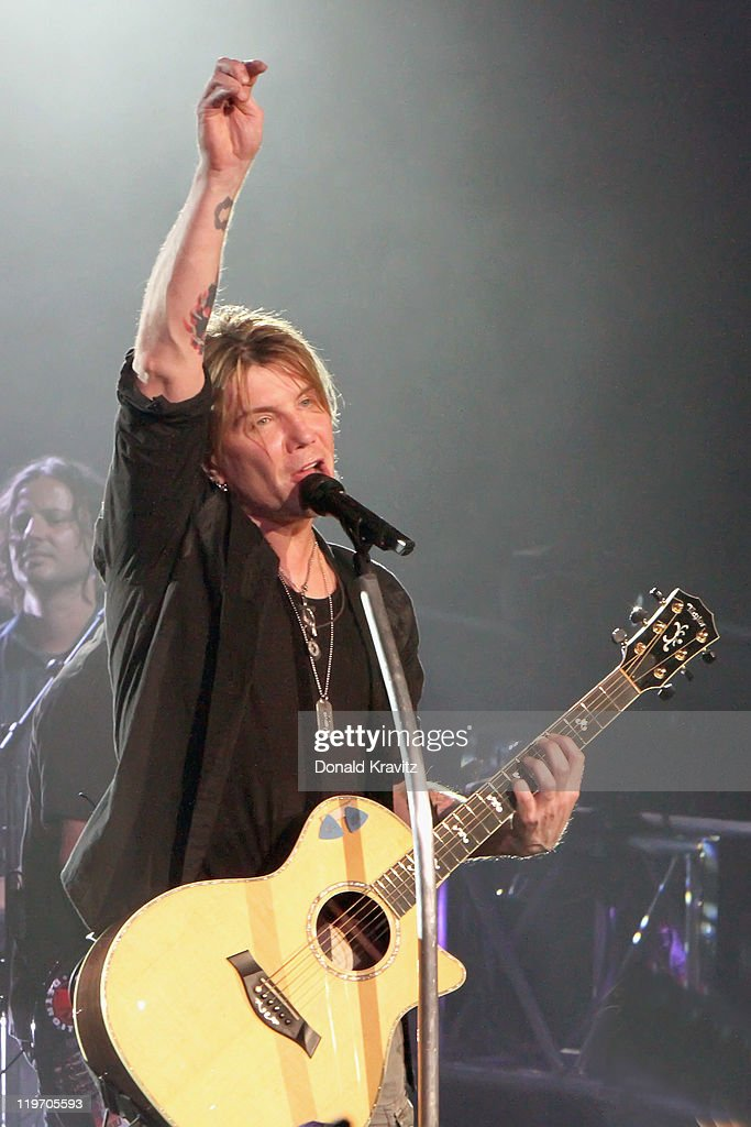 Goo Goo Dolls lead singer <a gi-track='captionPersonalityLinkClicked' href=/galleries/search?phrase=John+Rzeznik&family=editorial&specificpeople=220876 ng-click='$event.stopPropagation()'>John Rzeznik</a> performs at the Tropicana Casino on July 23, 2011 in Atlantic City, New Jersey.