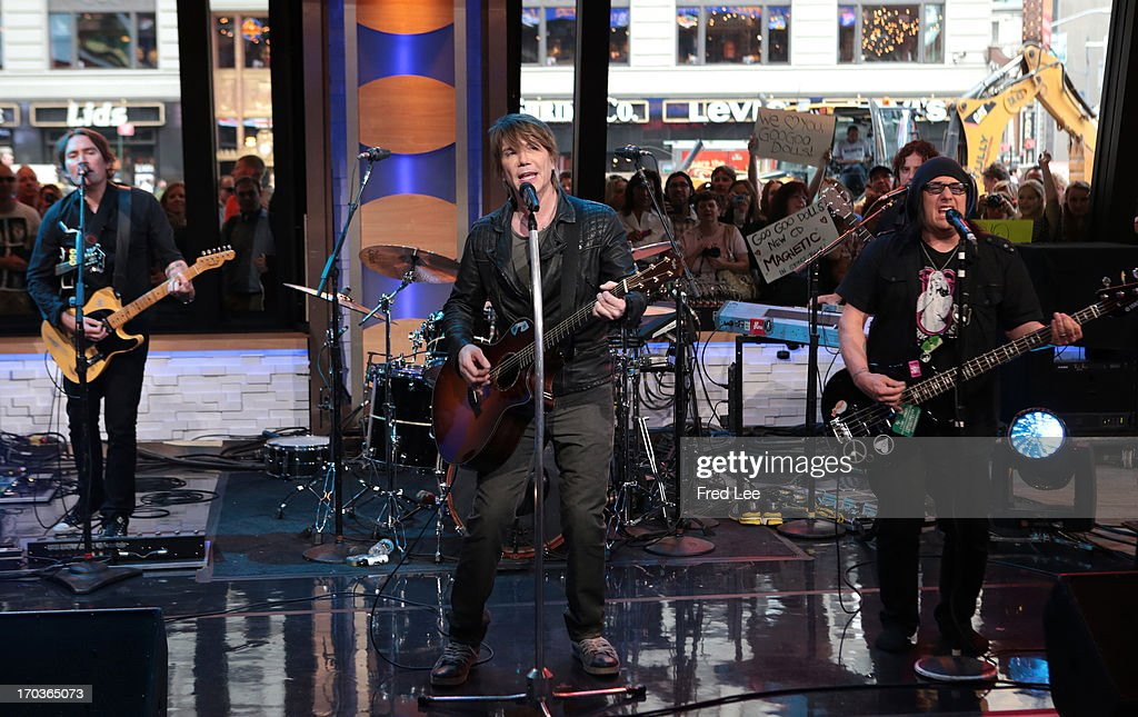 AMERICA - Goo Goo Dolls perform live on 'Good Morning America,' 6/11/13, airing on the ABC Television Network. GOO
