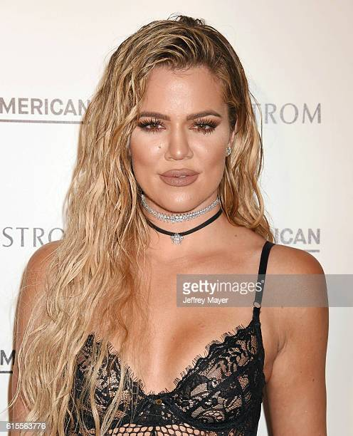 Good American Founding Partner Khloe Kardashian attends the Good American Launch Event at Nordstrom at the Grove on October 18 2016 in Los Angeles...