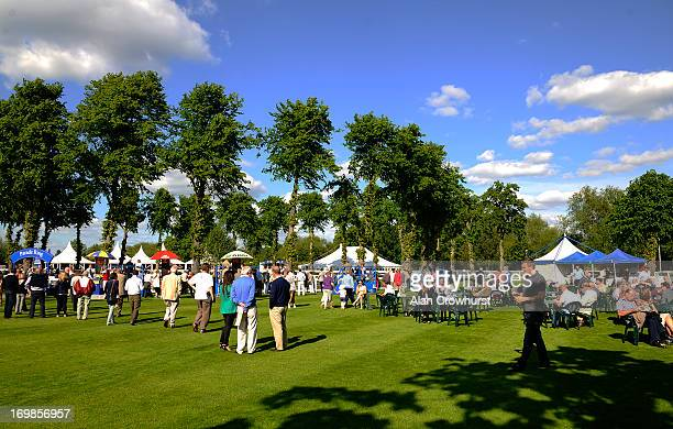 A good crowd at Windsor racecourse on June 03 2013 in Windsor England
