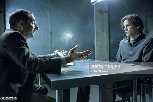 COLONY 'Good Intentions' Episode 208 Pictured Peter Jacobson as Proxy Alan Snyder Alex Neustaedter as Bram Bowman