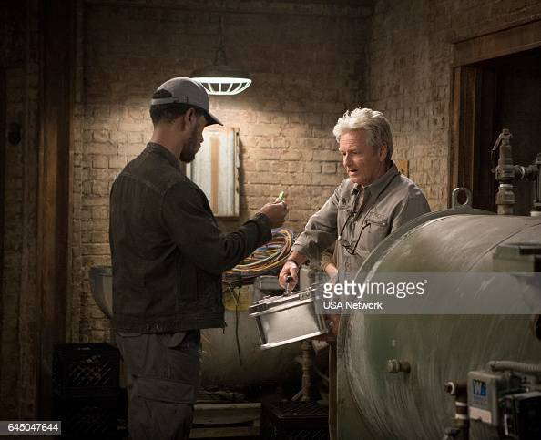 COLONY 'Good Intentions' Episode 208 Pictured Tory Kittles as Broussard William Russ as Hennessey