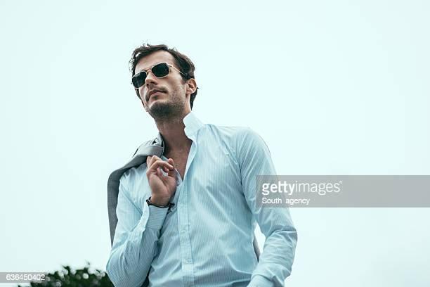 Good looking gentleman