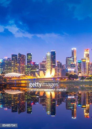 Good Time at Singapore City