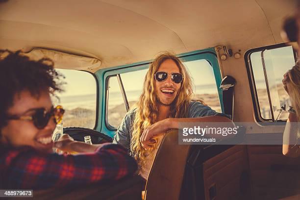 Good time in camper van