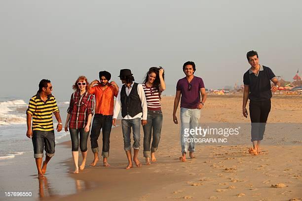 Gute Zeit auf den Strand in Indien