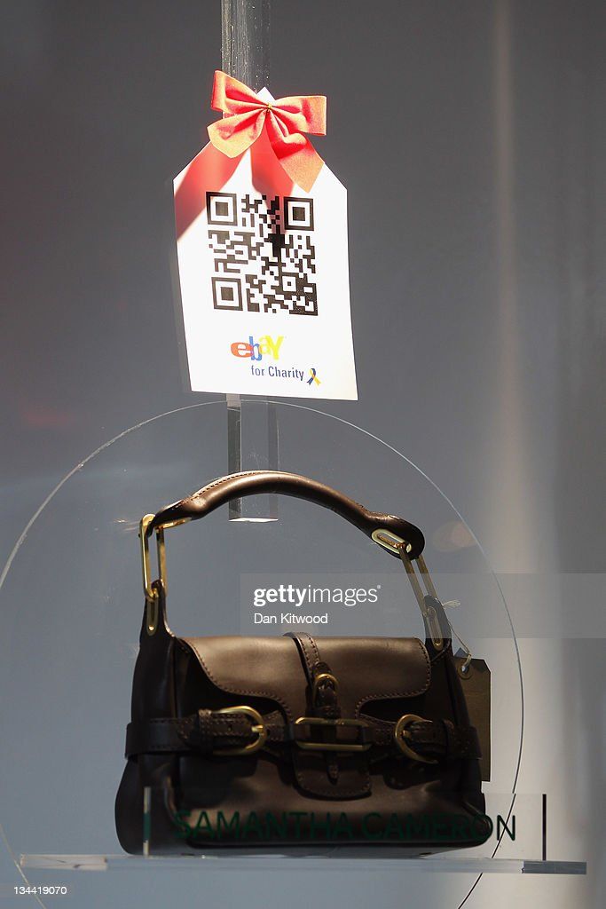 Goods are displayed in the new Ebay store on December 1, 2011 in central London, England. Ebay have launched the first ever quick response code shopping emporium allowing customers to browse in store and then order online using mobile phones and tablets inside the boutique whilst it is open for the next five days.
