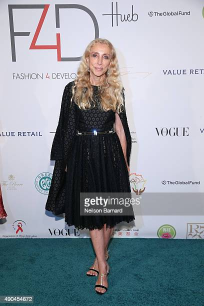 Goodwill ambassador Franca Sozzani attends the Fashion 4 Development's 5th annual Official First Ladies luncheon at The Pierre Hotel on September 28...