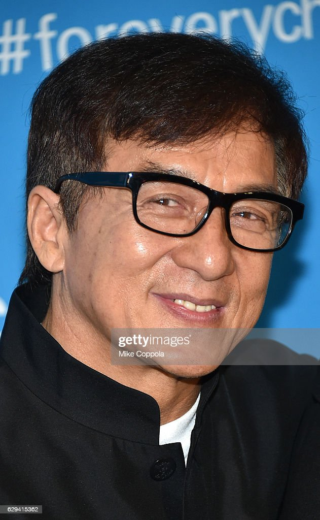 Goodwill Ambassador Jackie Chan attends UNICEF's 70th Anniversary Event at United Nations Headquarters on December 12, 2016 in New York City.