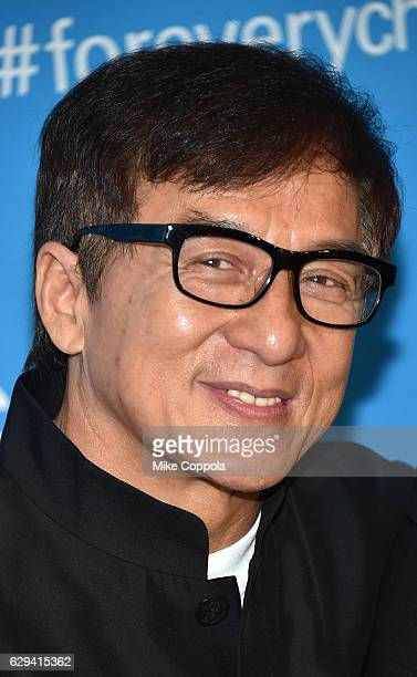 Goodwill Ambassador Jackie Chan attends UNICEF's 70th Anniversary Event at United Nations Headquarters on December 12 2016 in New York City