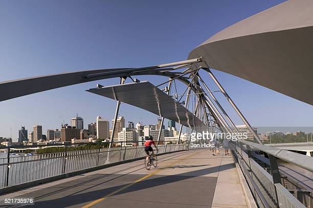 Goodwill Pedestrian Bridge in Brisbane