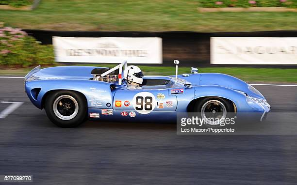 '2009 Goodwood Revival meeting Goodwood motor racing circuit UK The Whitsun Trophy Race 1965 LolaChevrolet T70 Spyder '