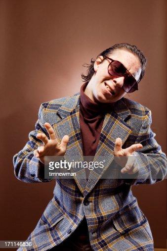 Goofy Businessman Portrait
