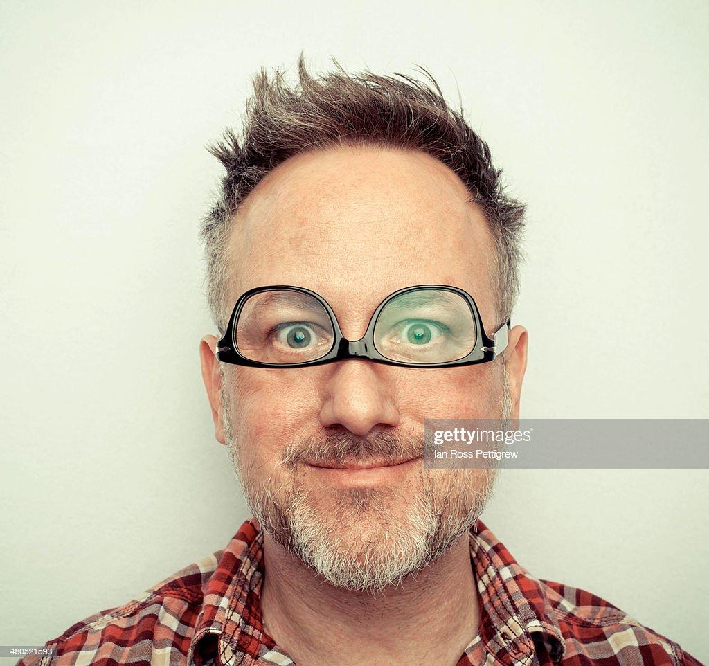 goofy face