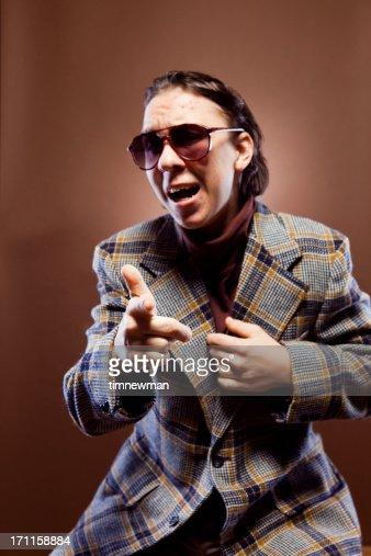 Goofy Retro Businessman