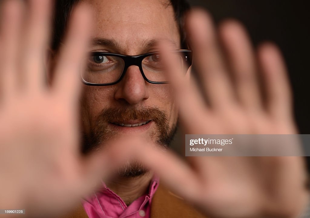 'Google and the World Brain' director Ben Lewis poses for a portrait at the Photo Studio for MSN Wonderwall at ChefDance on January 22, 2013 in Park City, Utah.