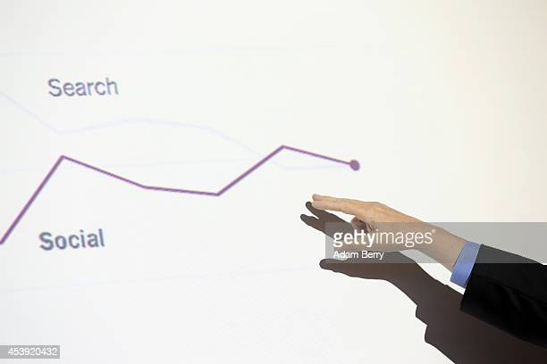 Google Chief Economist Hal Varian speaks to journalists about online news consumption on August 21 2014 in Berlin Germany Google reported last month...