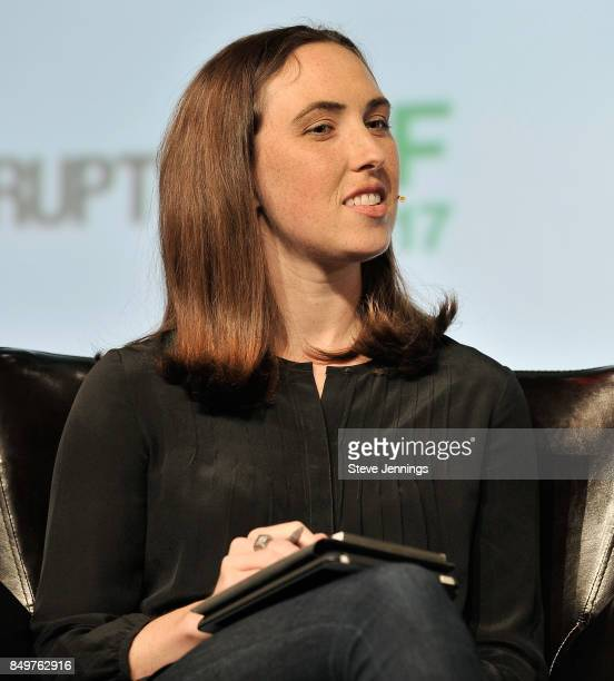 Google Cloud Head of Startup Programs Sam O'Keefe judges the Startup Battlefield Competition during TechCrunch Disrupt SF 2017 at Pier 48 on...