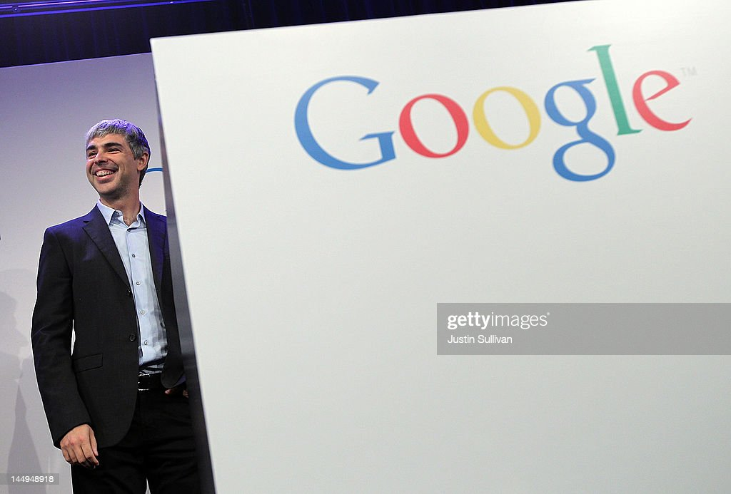 Google co-founder and CEO <a gi-track='captionPersonalityLinkClicked' href=/galleries/search?phrase=Larry+Page&family=editorial&specificpeople=753550 ng-click='$event.stopPropagation()'>Larry Page</a> speaks during a news conference at the Google offices on May 21, 2012 in New York City. Google announced today that it will allocate 22,000 square feet of space in its New York headquarters to CornellNYC Tech while the university completes its new campus on Roosevelt Island.