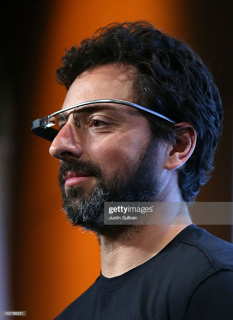 Google co-founder Sergey Brin looks on during a news conference at Google headquarters on September 25, 2012 in Mountain View, California. California Gov. Jerry Brown signed State Senate Bill 1298 that allows driverless cars to operate on public roads for testing purposes. The bill also calls for the Department of Motor Vehicles to adopt regulations that govern licensing, bonding, testing and operation of the driverless vehicles before January 2015.